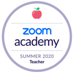 Zoom Academy Badge