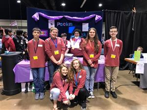 Page Students at State Competition