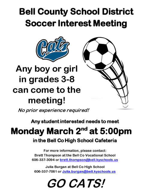 Soccer Interest Meeting