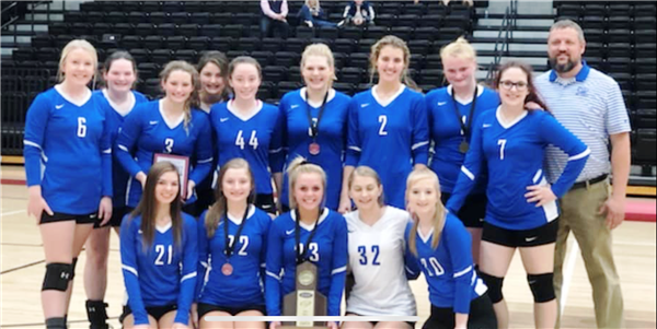 BCHS Volleyball Team Wins District